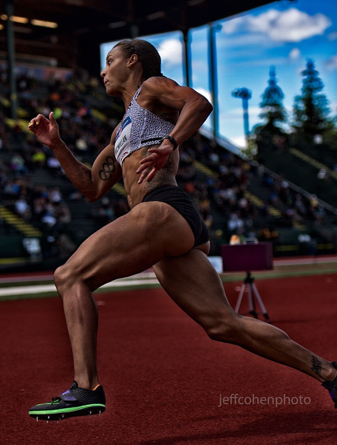 Chantae Mcmillan USA Olympian decathlete Jeffcohenphoto Athlete Sport Track And Field Athlete Olympian Jeffcohenphoto Usatf Trackandfield Trackgirl Iaaf Fitness Nikon SportsPhotographer