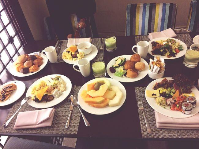 @swissotel makah Breakfast Relaxing enjoying