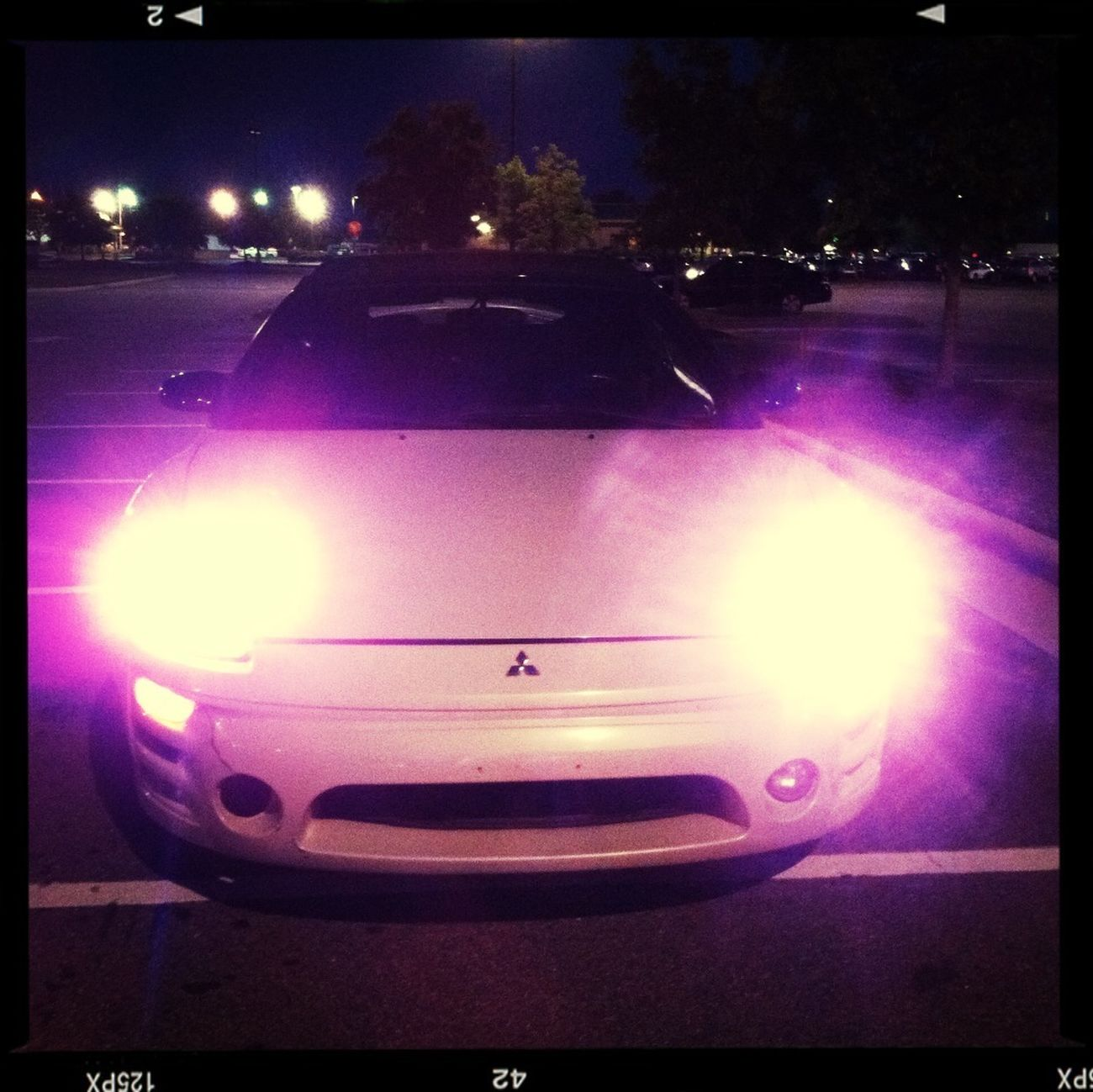 Pink HID's :)