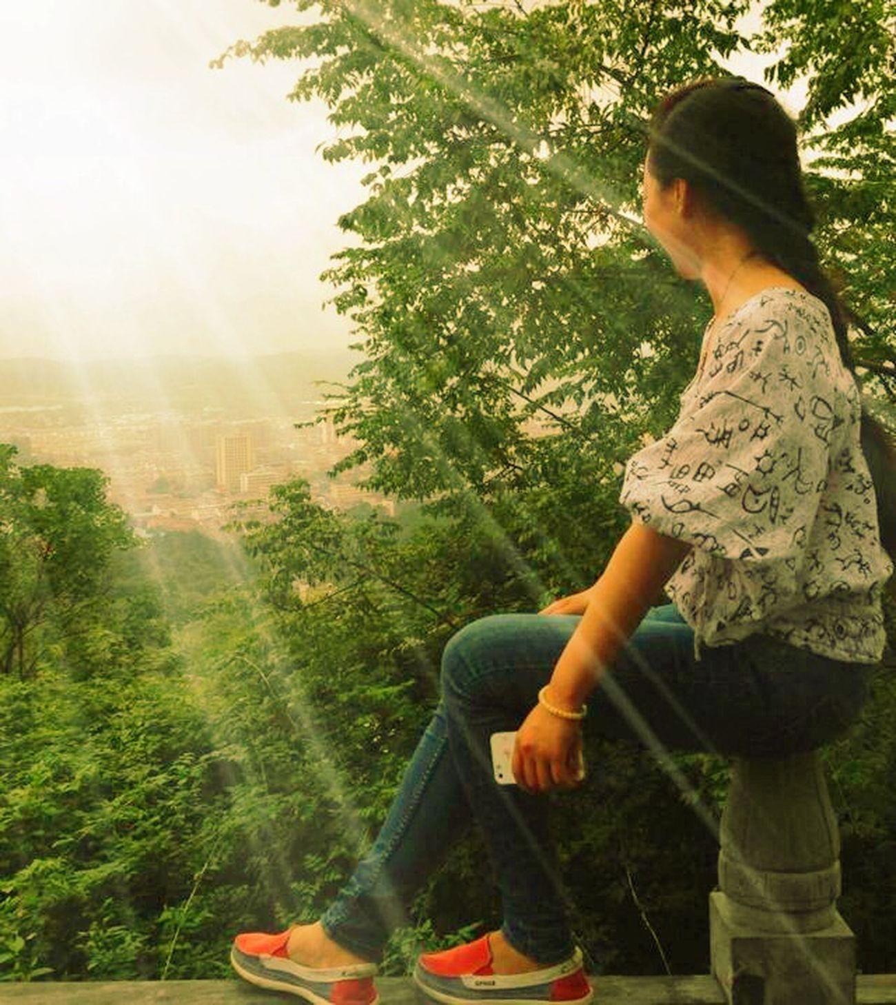 霍山,南岳山!拍摄者—夏枫
