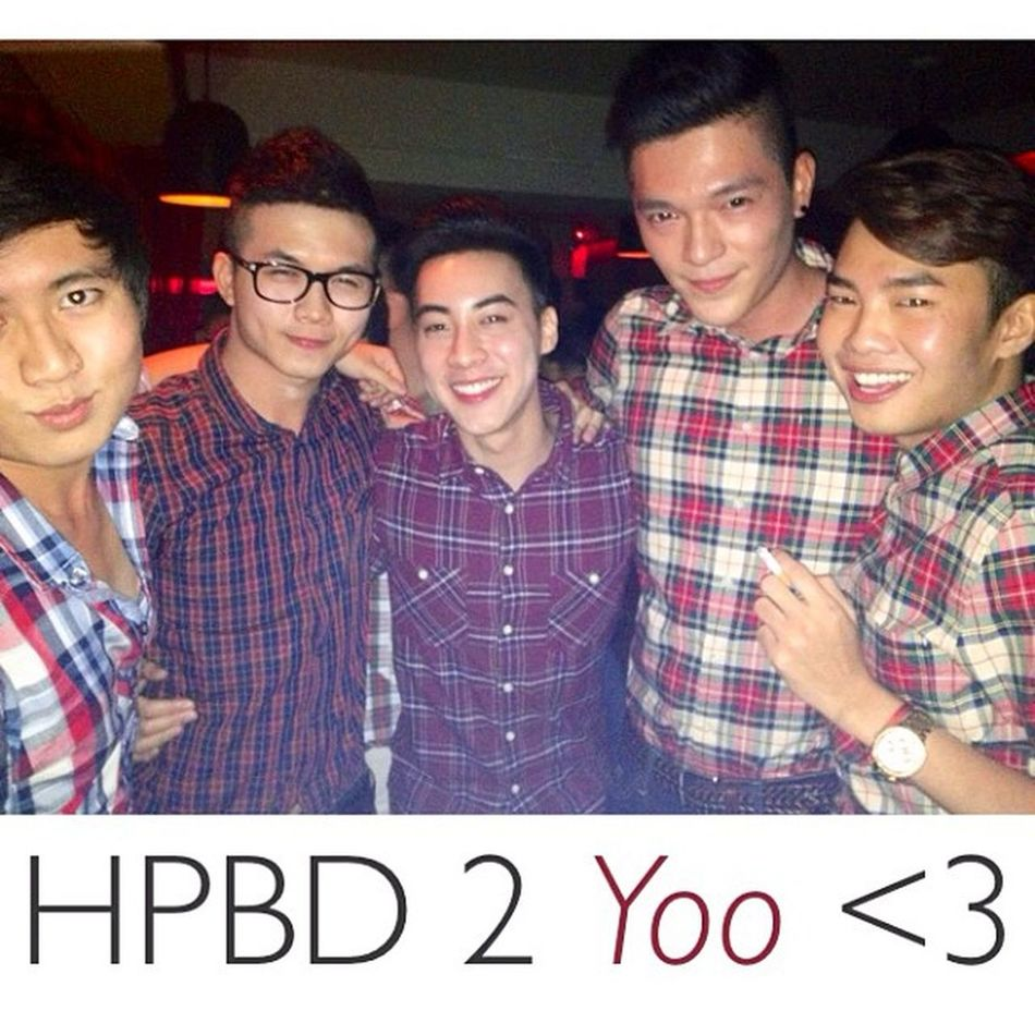 HPBD 2 Yoo From a RED CHECKED SHIRT team with LOVE <3
