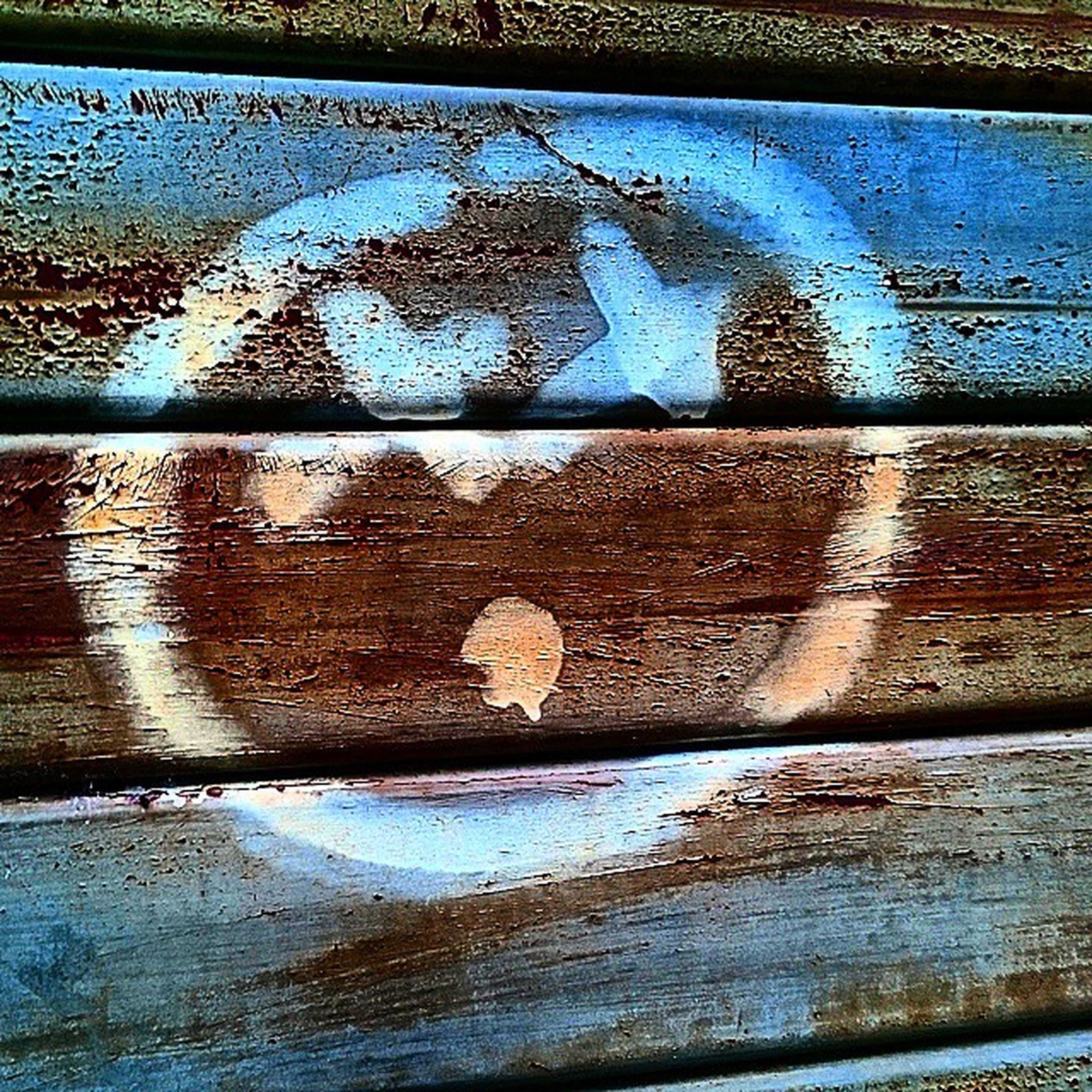 full frame, backgrounds, weathered, wood - material, water, rusty, close-up, old, textured, pattern, deterioration, blue, damaged, metal, wooden, run-down, obsolete, built structure, no people, metallic