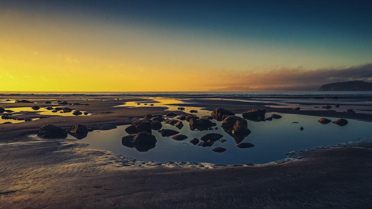 Shi Shi Beach... Beach Clouds Coastline Colors Landscape Ocean Outdoors Rocks Sand Shi Shi Beach Sky SONY A7ii Sony A7mk2 Summer Sun Sunset Washington Water