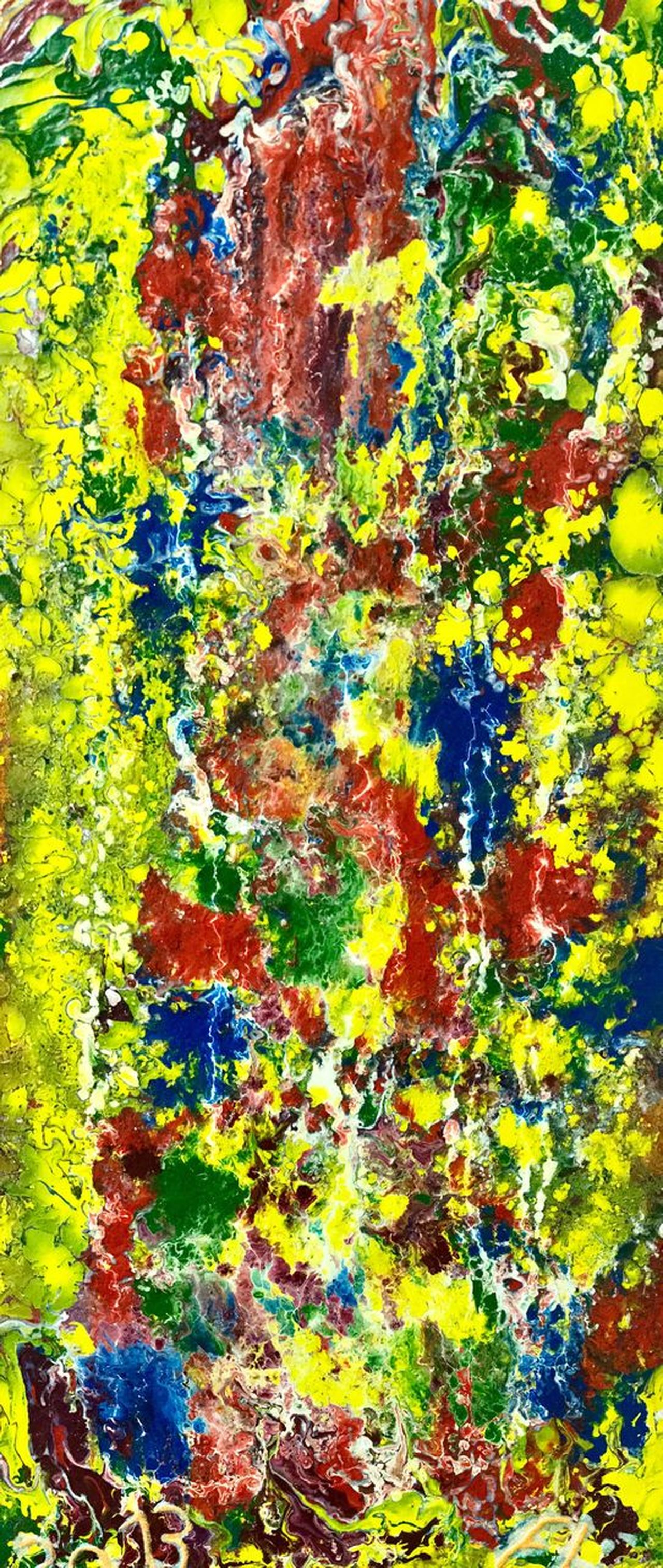 Multi Colored Backgrounds Paint Full Frame Green Color Yellow Abstract Textured  Close-up No People Day Outdoors KLIMPI KLIMPERATOR Klimpi-klimperator Color Colorexplosion Hobbies Hobby