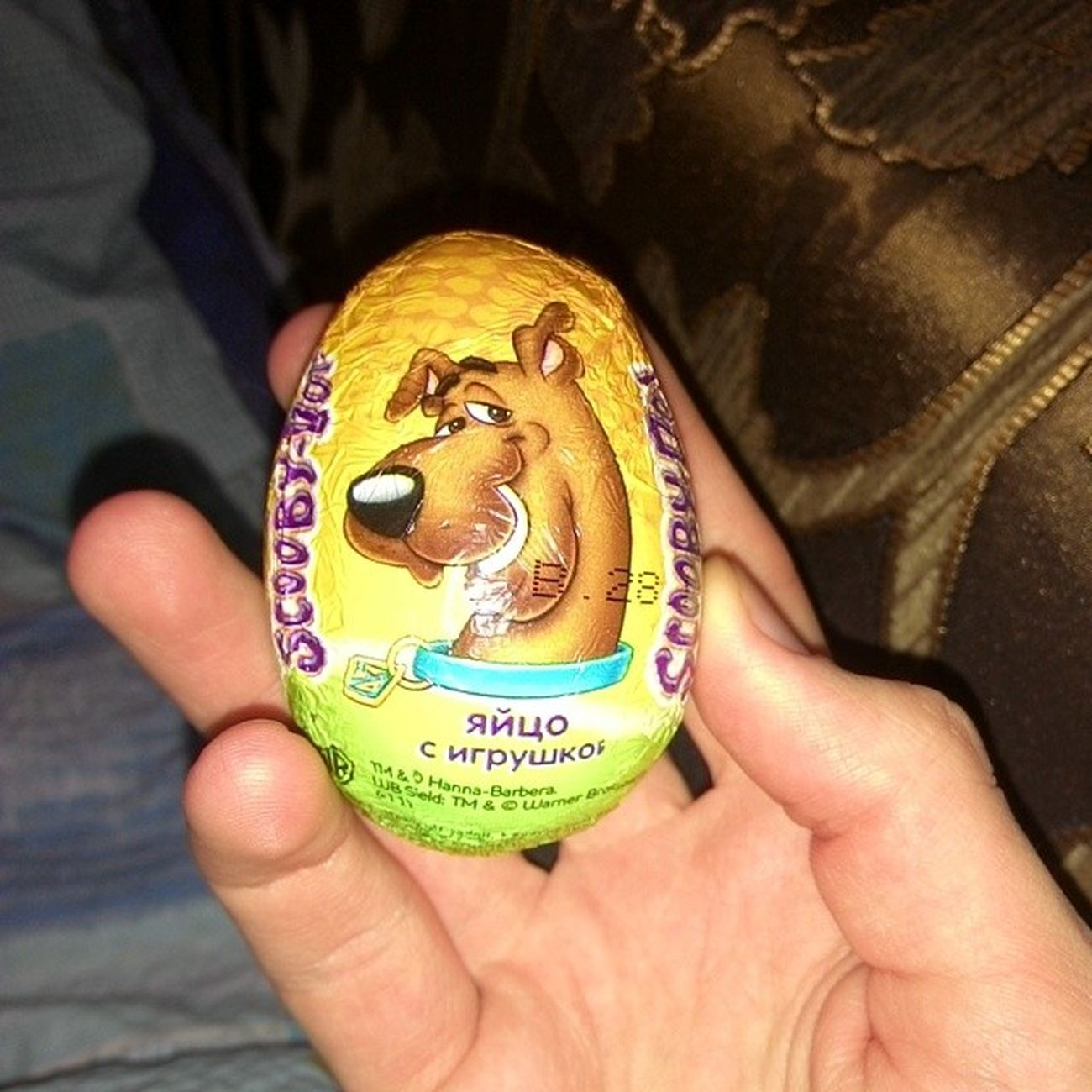 #яйцо #яйца #мирдолжензнатьчтояем #2014 #egg Egg Scooby 2014 мирдолжензнатьчтояем игрушка яйцо яйца скубиду