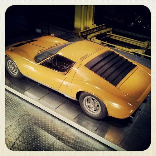 Verkehrshaus Lamborghini Car Yellow