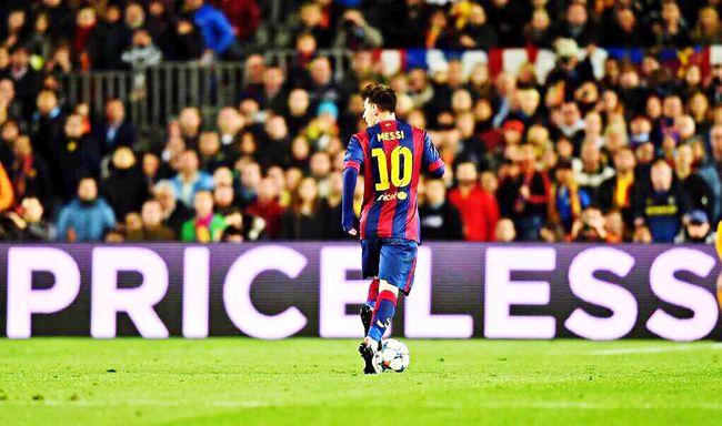 P R I C E L E S S Priceless Futbol Crack Messi
