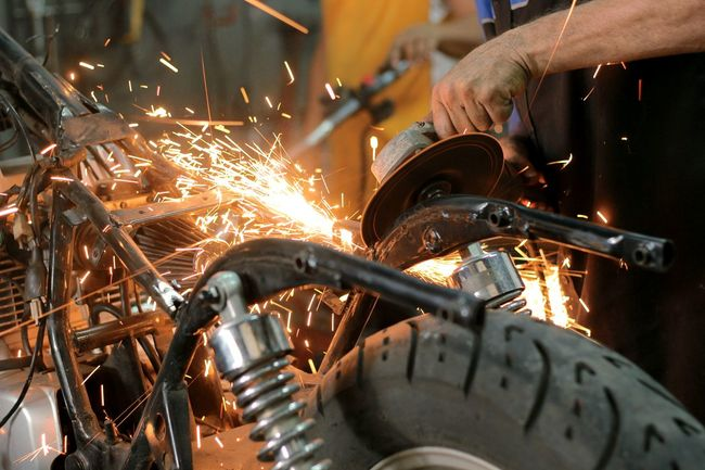 Sparks Custom Motorcycle Photography Motorcycle Panamá