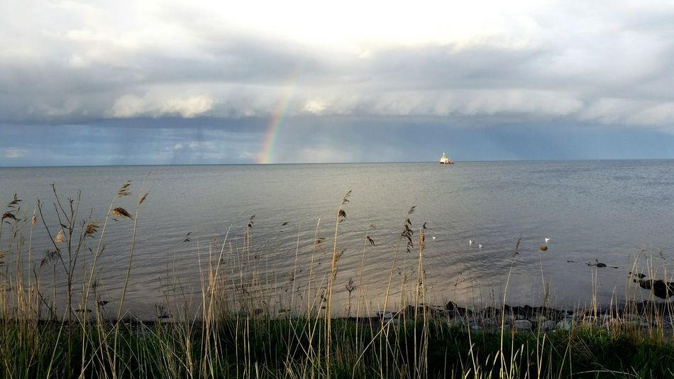 Water Horizon Over Water Rainbow Life Is A Beach Outdoors This Is Germany Fishing Getting Away From It All Baltic Sea Beachphotography Water_collection Nature_collection Fehmarn Sky_collection The Magic Mission