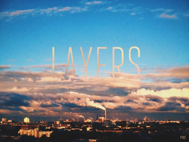 Layers. P.012 365project Onephotoaday 365 Day Challenge View From The Balcony Amazing View Clouds And Sky Morning Sky Cloudporn Multiple Layers Sunrise