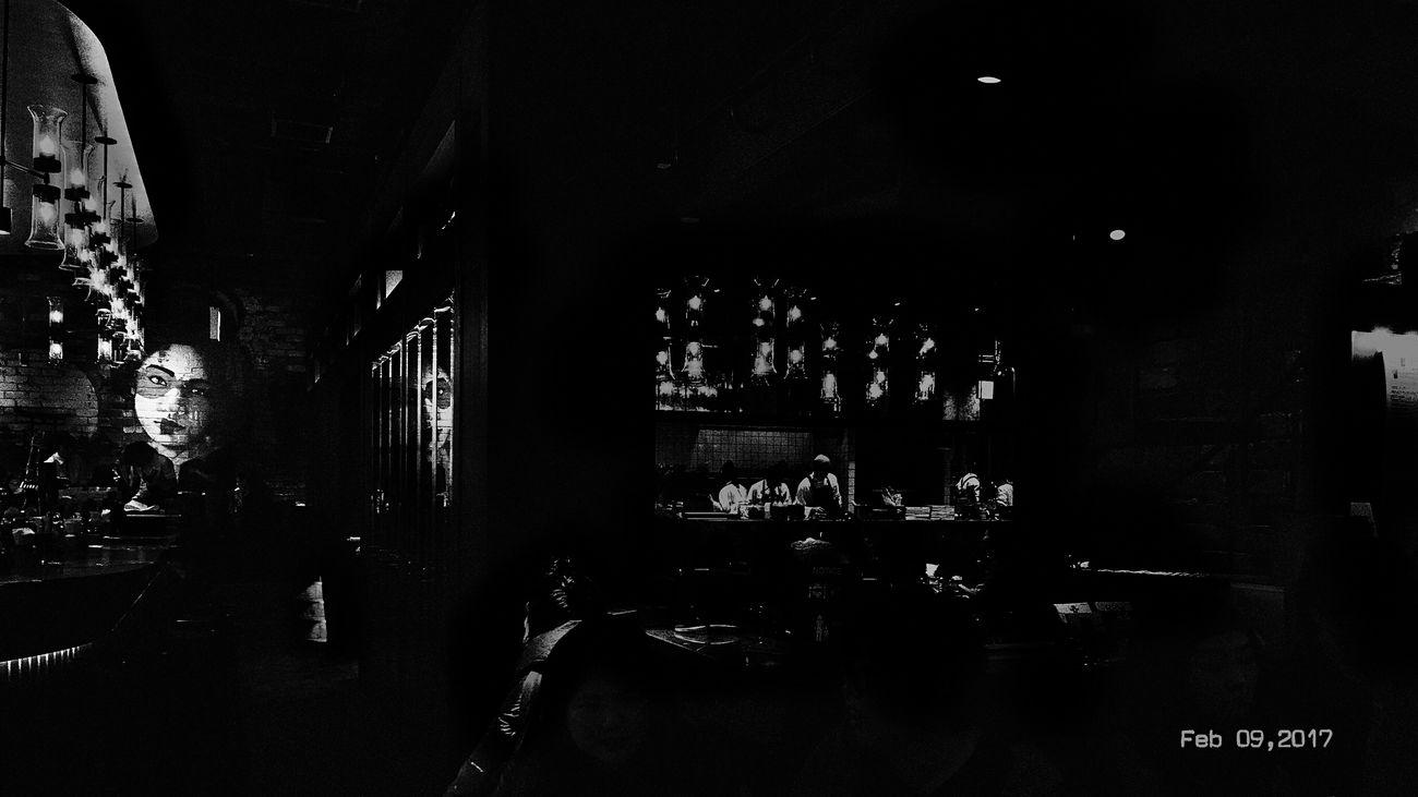 Feb 09,2017 TODAY'S MY WALLPAPER My Wallpaper Of Today Monochrome_life Blackandwhite Lightandshadow Light And Shadow Food Shop SHINJYUKU Tokyo,Japan