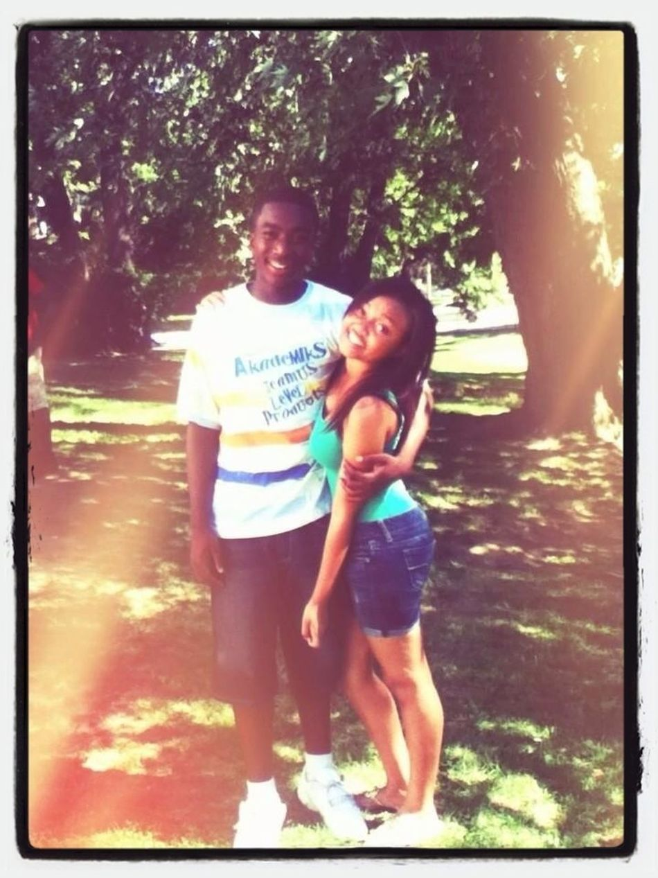 Oldd , But Me & My Favorite Lil Brother ❤