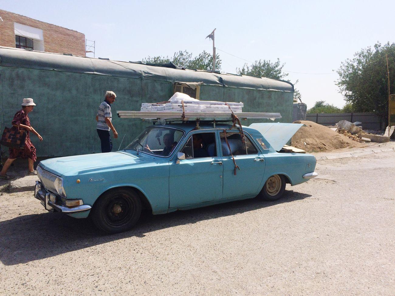 Wolga Soviet Car First Eyeem Photo Millennial Pink Uzbekistan Uzbek People Buxoro
