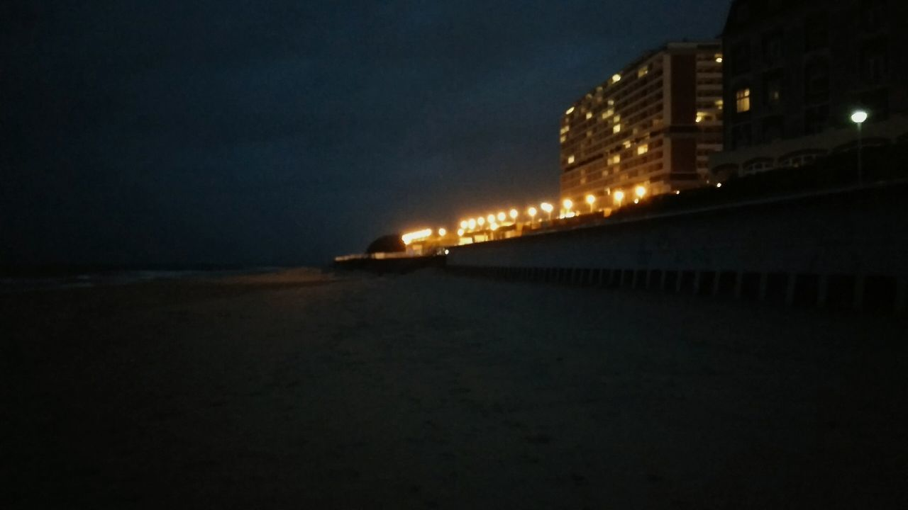 The Hotel Promenade. · Westerland Sylt Germany Beach Hotels Lights Walk On The Beach  Tourist Destination Tourism Night Night Lights Night Photography