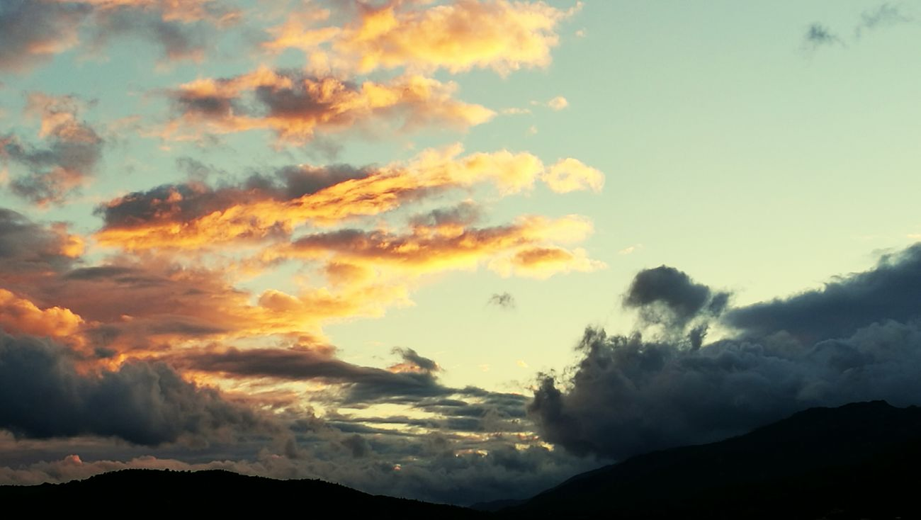 Porto-Vecchio Sky - 2017 Corse Landscape Sunset Cloudy Clouds And Sky Variation Clouds And Sunset