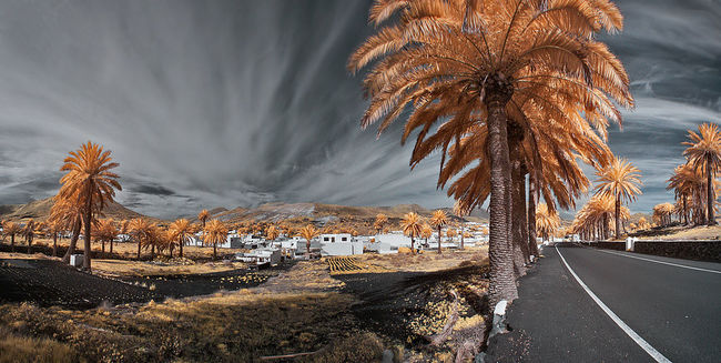 Canon400d Fun Infrared Infrared Photography Landscape Lanzarote Photoshop Travelling