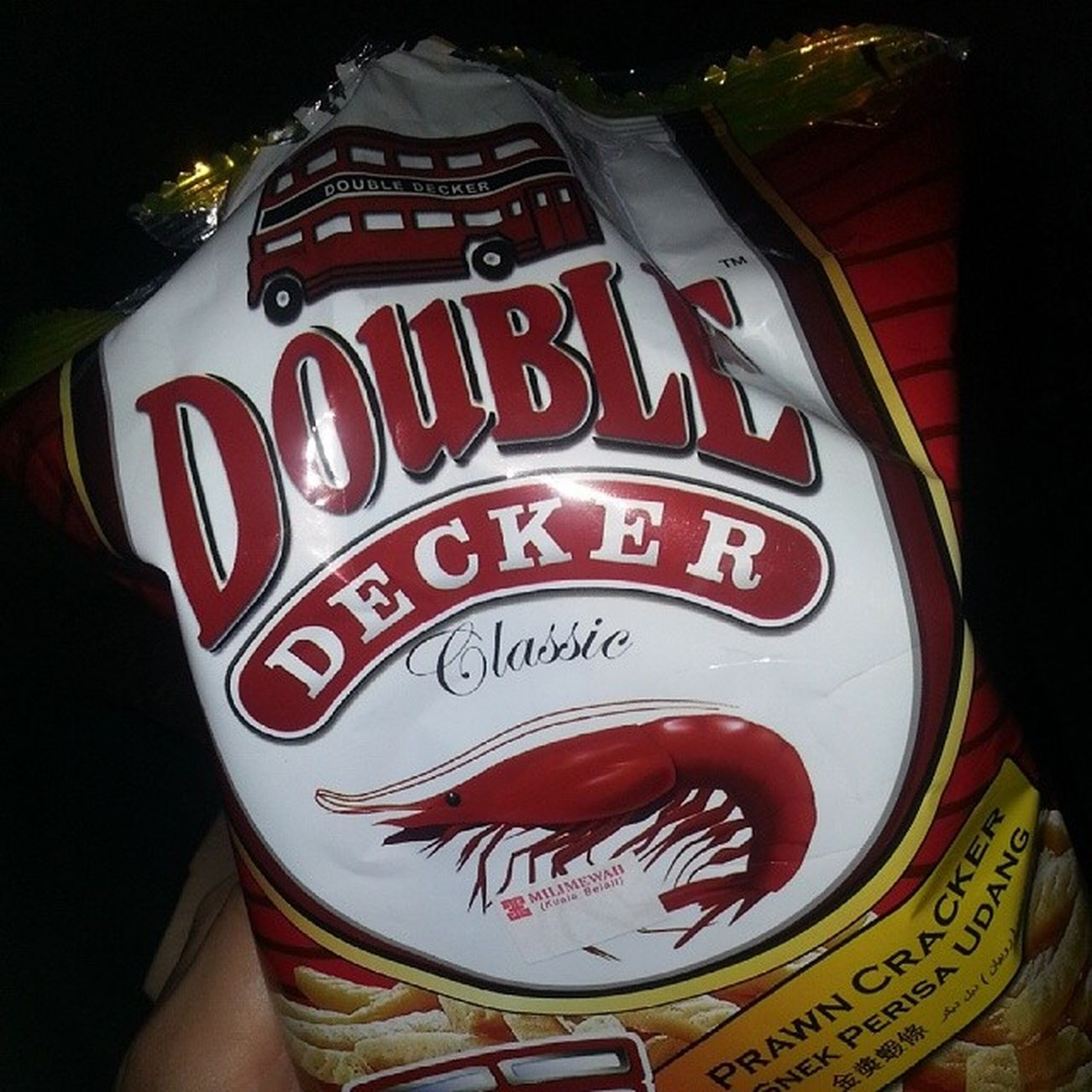 Doubledecker Snack Favourite while watching Koreanseries roomate
