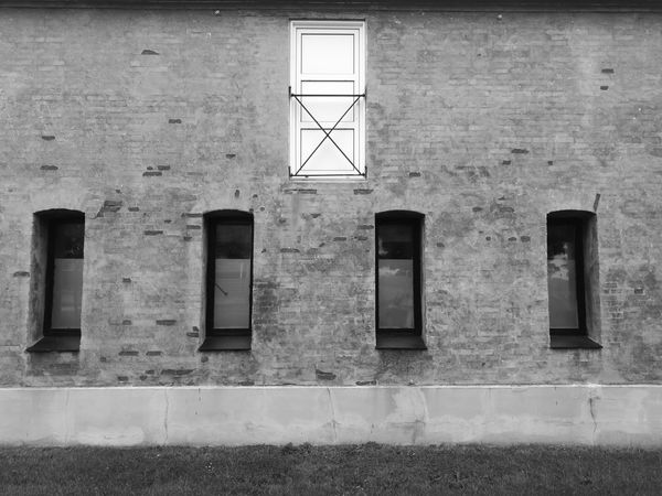 Window Black And White Photography Black & White Black And White Houses And Windows House Architecture Built Structure No People Outdoors Building Exterior Day