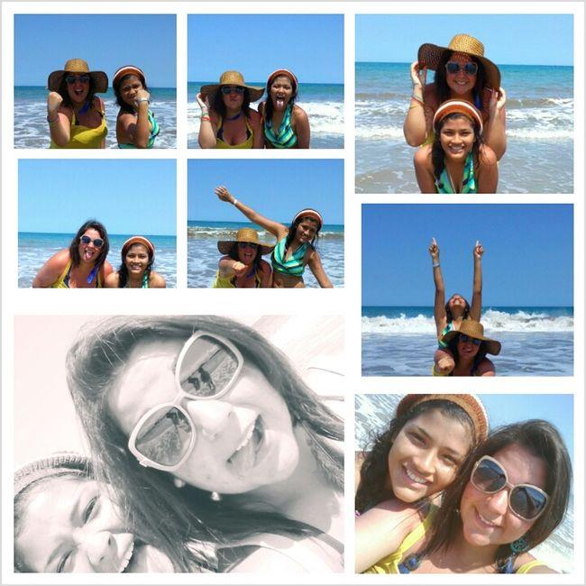 Friends And Beach