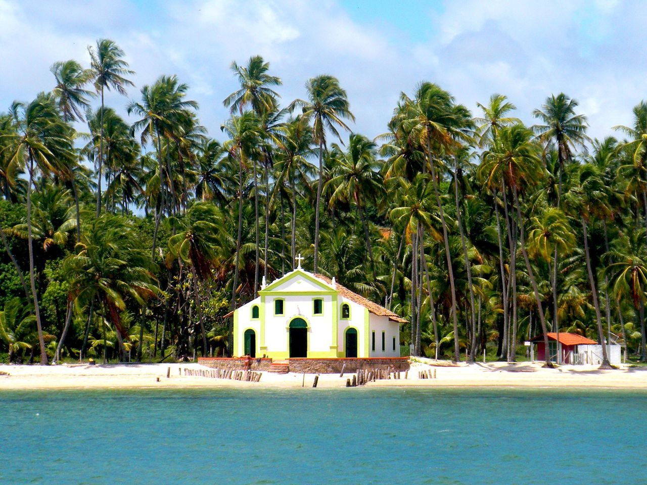 Memories of Carneiros Nature Architecture Paradise Religion Beach Life Palm Trees Brazil