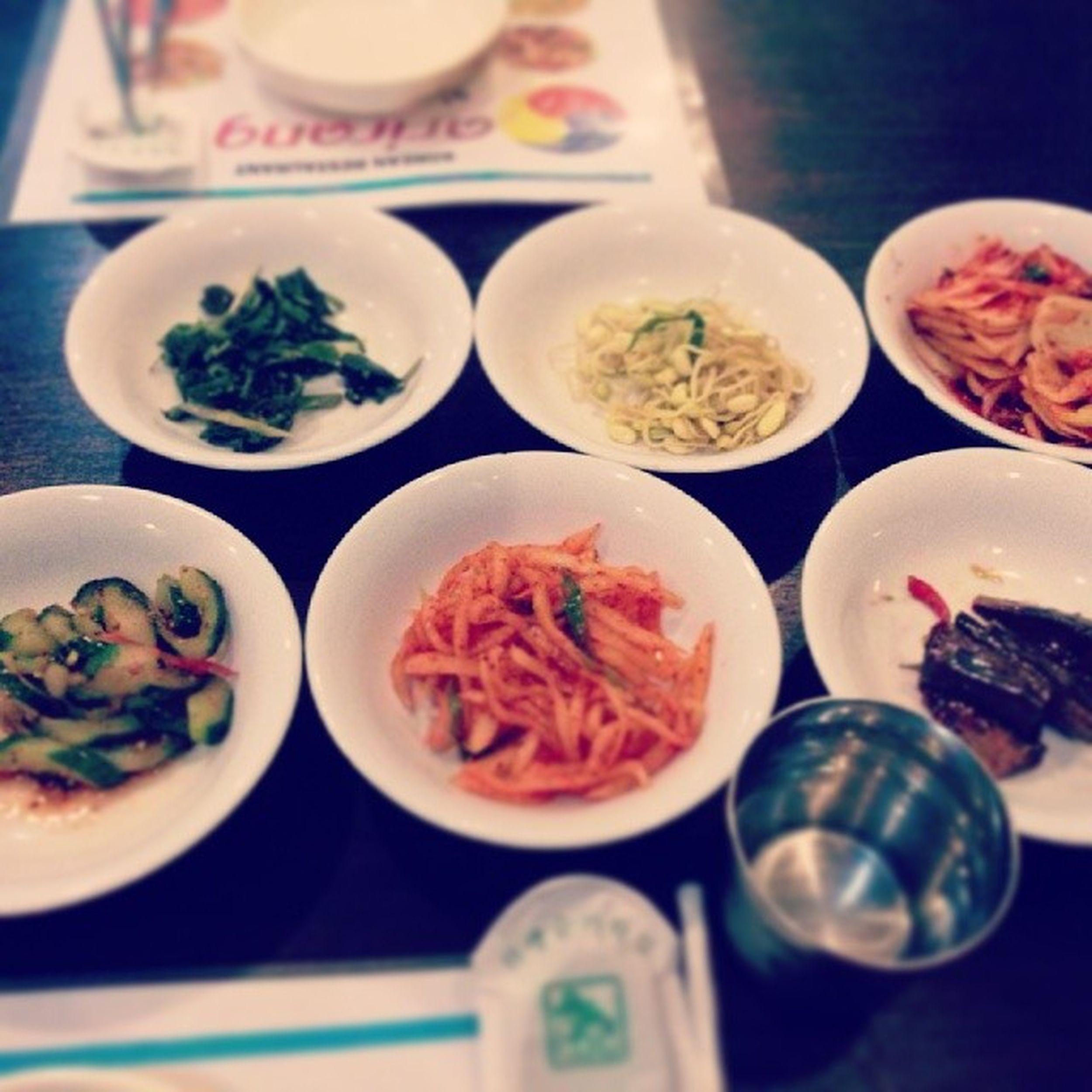 Banchan at Arirang Resto Bali koreanfood yum