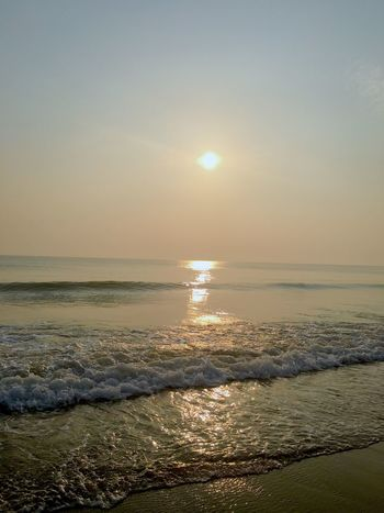 Sunrise Sea Sun Scenics Water Beauty In Nature Horizon Over Water Travel Destinations Wave