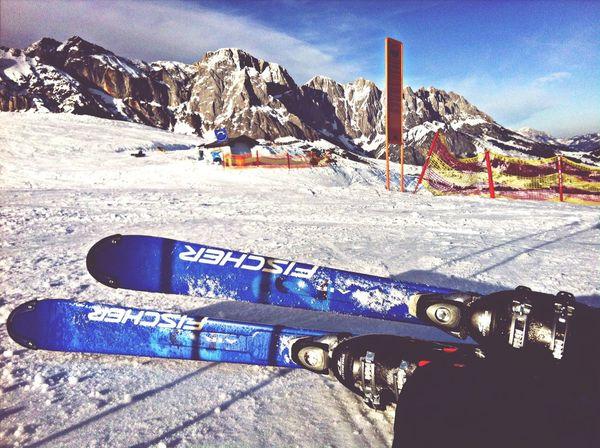 Ski Landscape Mountains Austria