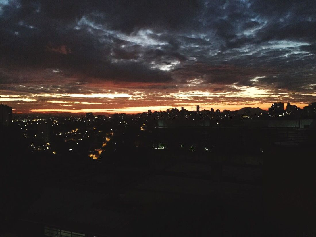Sky Sunset Sampa City