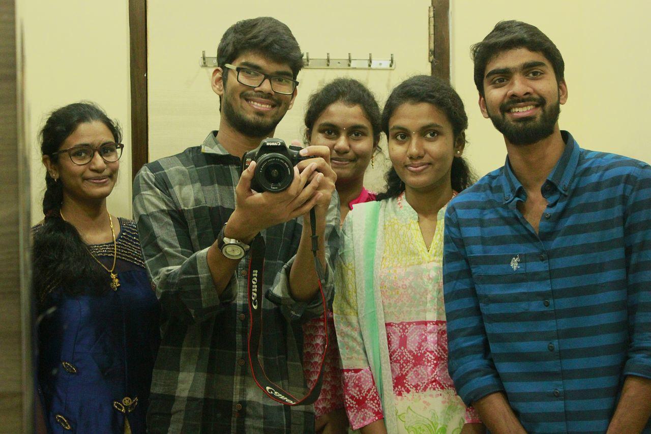 Mirror capture.. Cousins ❤