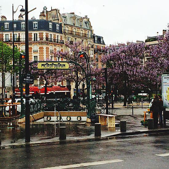 Pardon France Metro Paris Capital Trip Pardon Wonderful Rain City