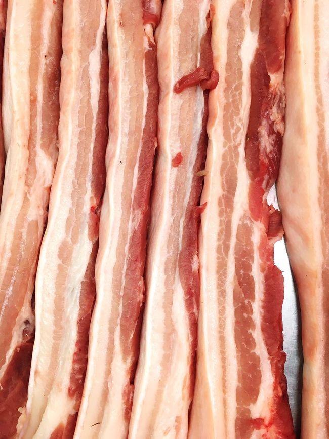 Pork Red Meat Freshness Red Full Frame Collection