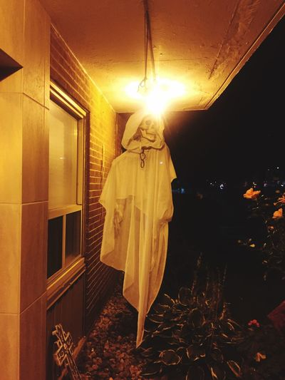 Ghost Town Ghost Booyah Night Illuminated Halloween Spooky Standing first eyeem photo