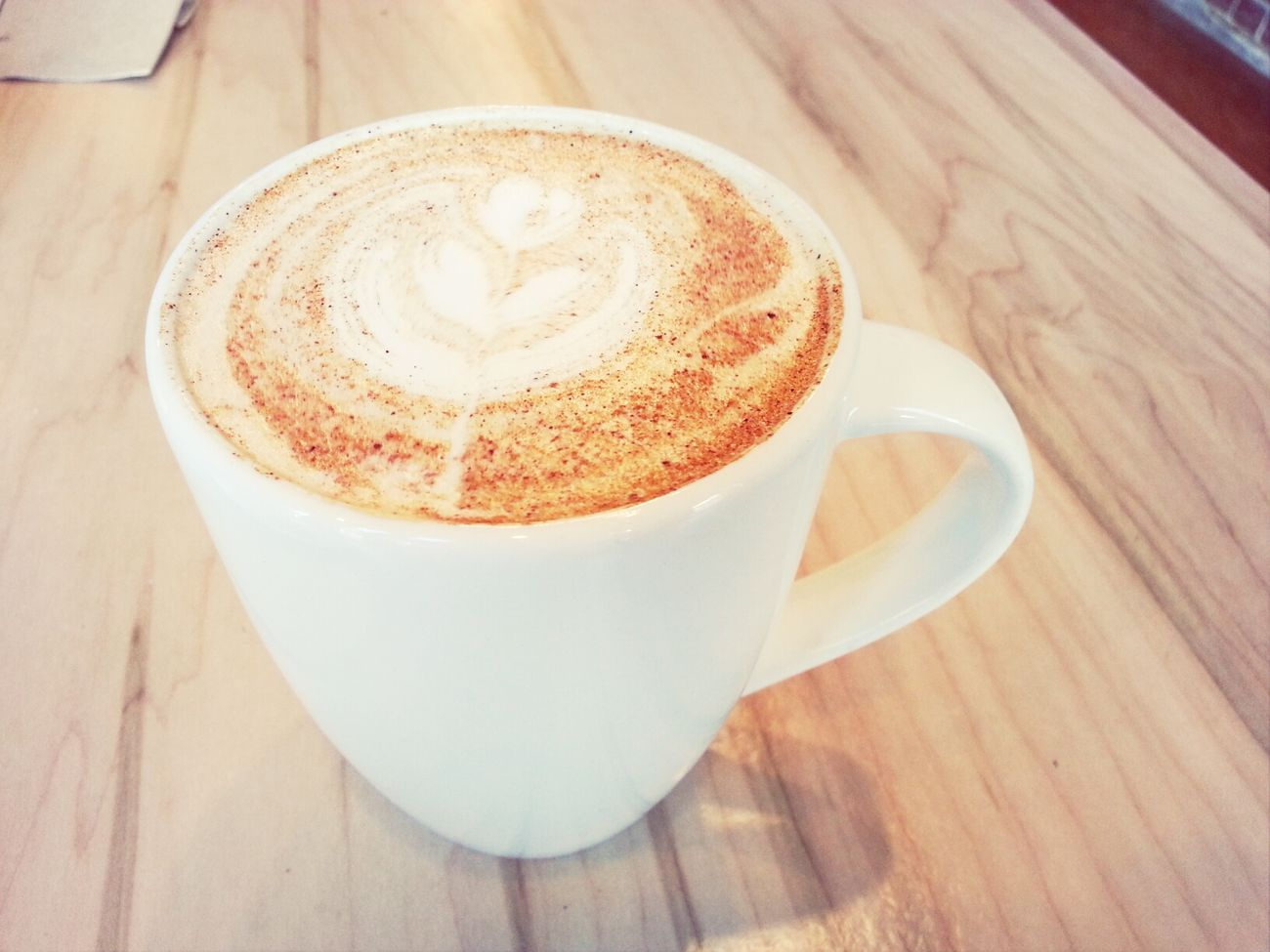 Today's coffee is actually a Chai Tea Latte with my Dad. Cotd
