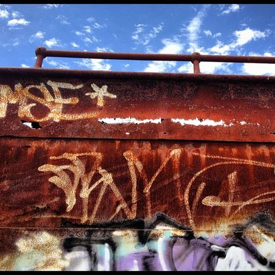 I see the light! #rusty #railtrail #bellarine #train #carriage #myhometown #drysdale #unloved #history #graffiti Graffiti Train History Rusty Unloved Carriage Railtrail Myhometown Drysdale Bellarine
