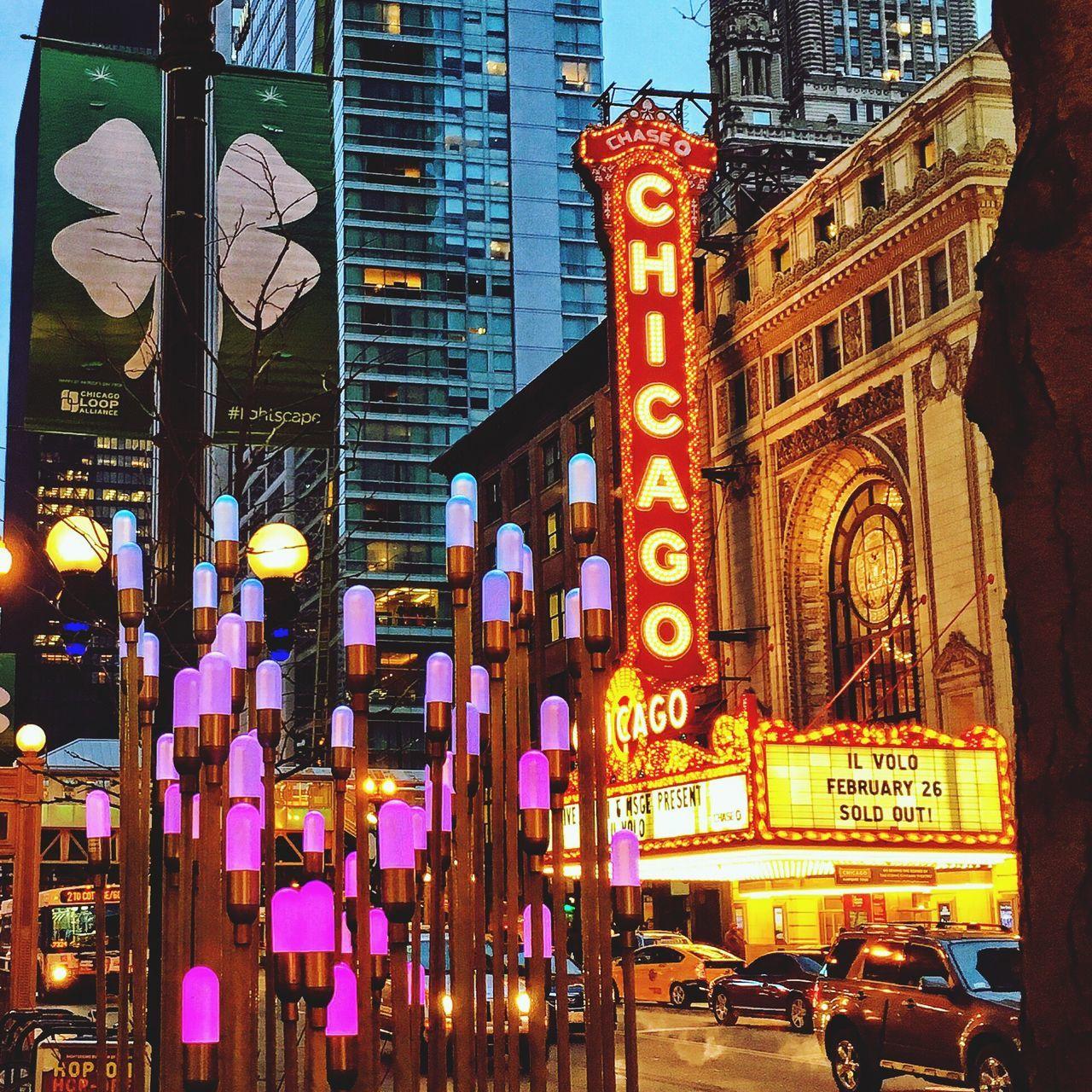 Chicago Chicagoloop Windy City Chicago Street Scene Chicago Loop EyeEm Best Shots EyeEm Gallery Magnificent Mile Love Chicago Night Lights Theatre Theatre Arts Best City Ever