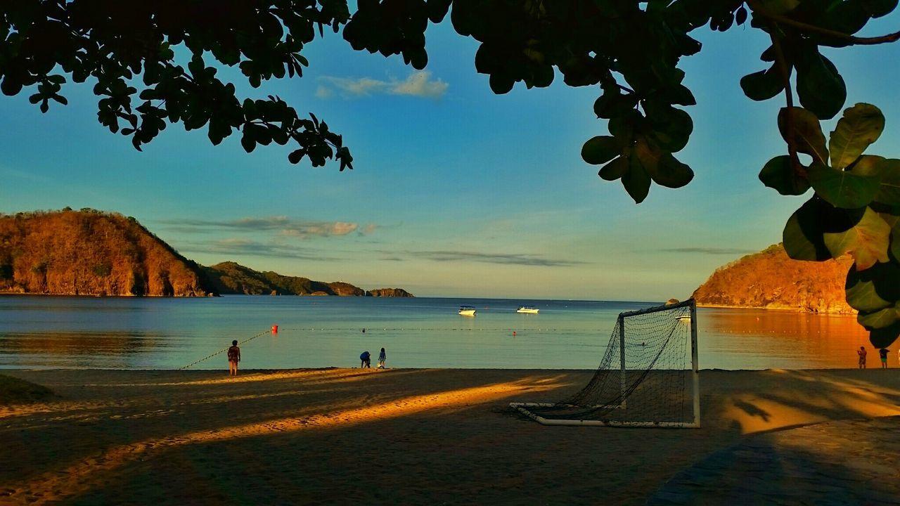 Beautiful stock photos of soccer, Beach, Cloud - Sky, Dusk, Goal Post