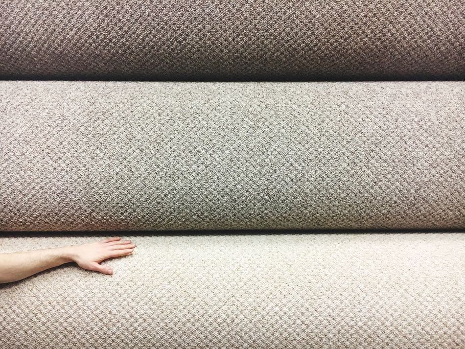 Carpet Shop Carpet Touching Touch Textured  Textures And Surfaces Roll Full Frame Human Body Part Indoors  Carpet Right Flooring Floor Colour Palette Interior Design Interior Minimalism Minimalobsession Shades Of Grey Simplicity Broken Patterns