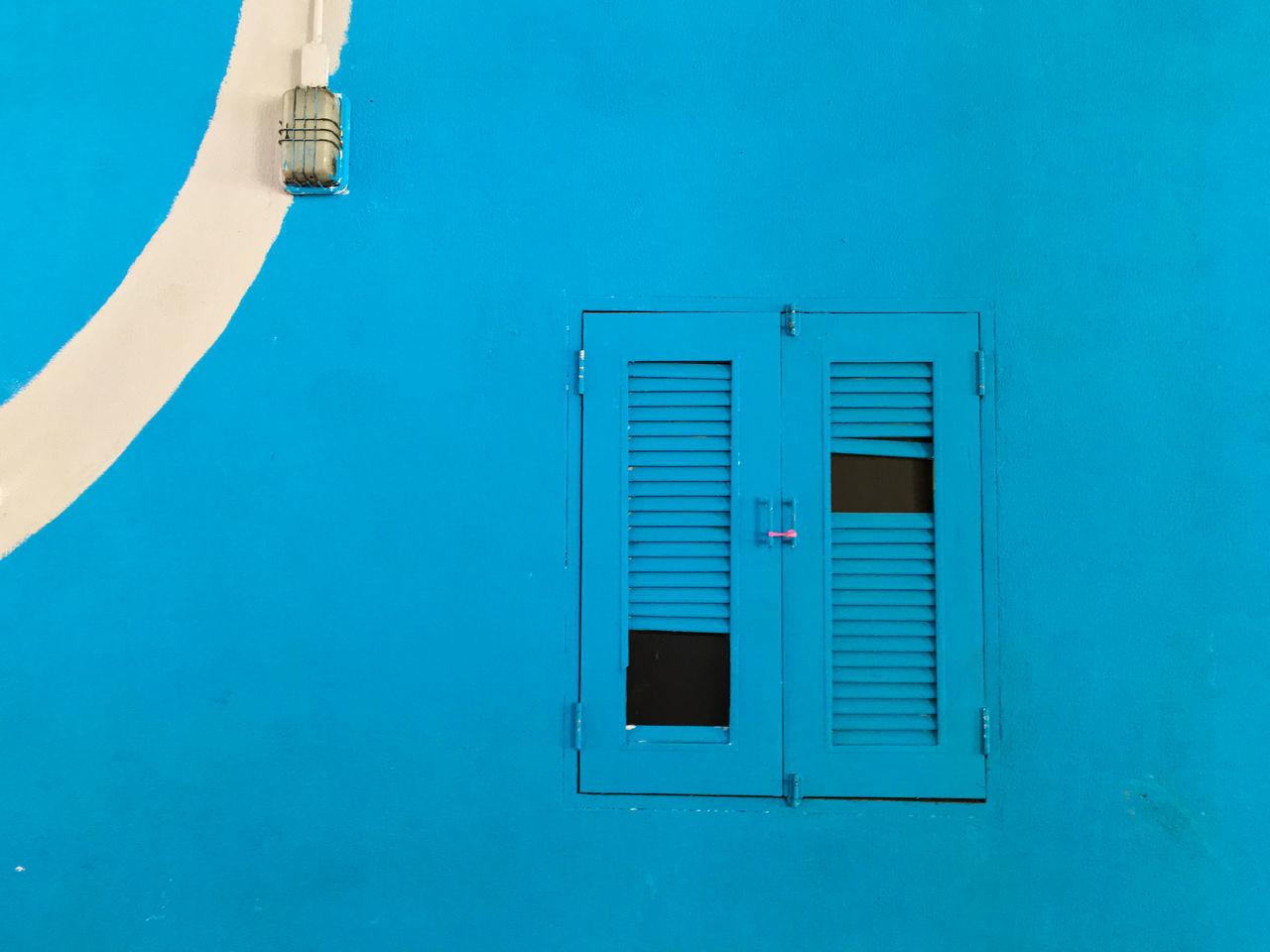 Beautiful stock photos of sicherheit, Architecture, Blue, Broken, Building Exterior