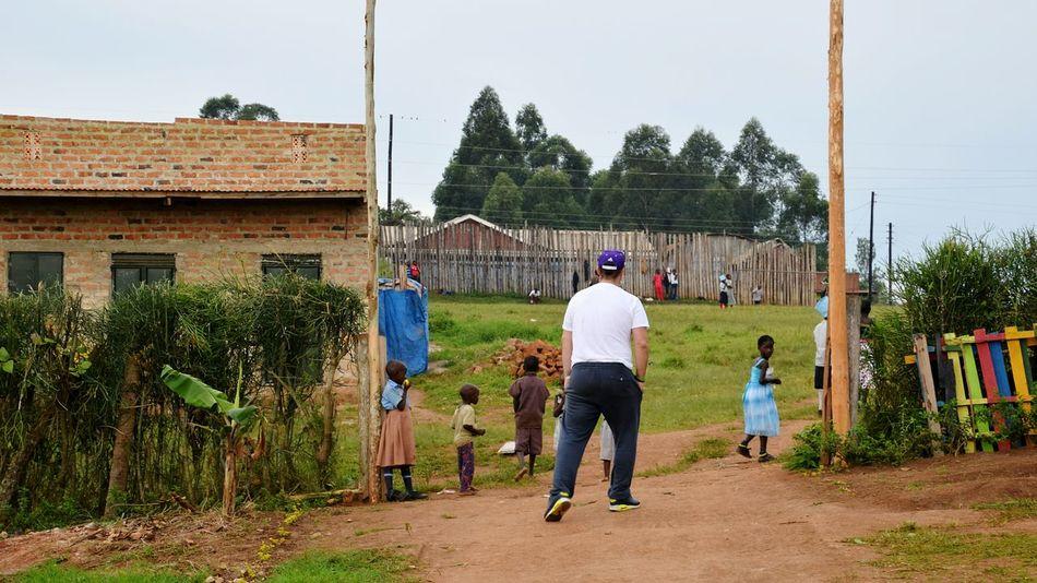 EyeEm Diversity Togetherness Full Length People Sport Adult Child Lifestyles Competition Day Outdoors Teamwork Volunteer Uganda