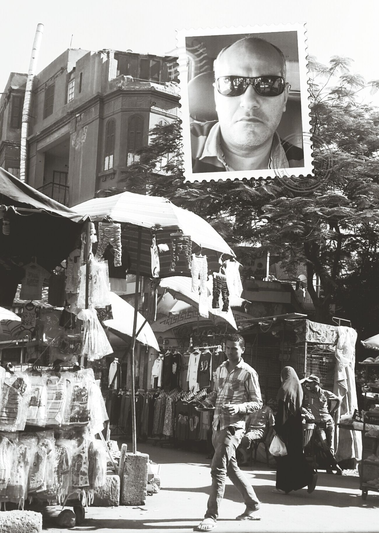 Oldmarket Black & White Self Portait Check This Out