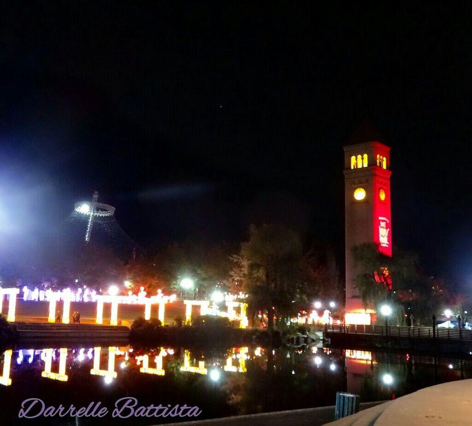 I Love My City Spokane Wa RiverFrontPark Washington State Chinese Lantern Festival