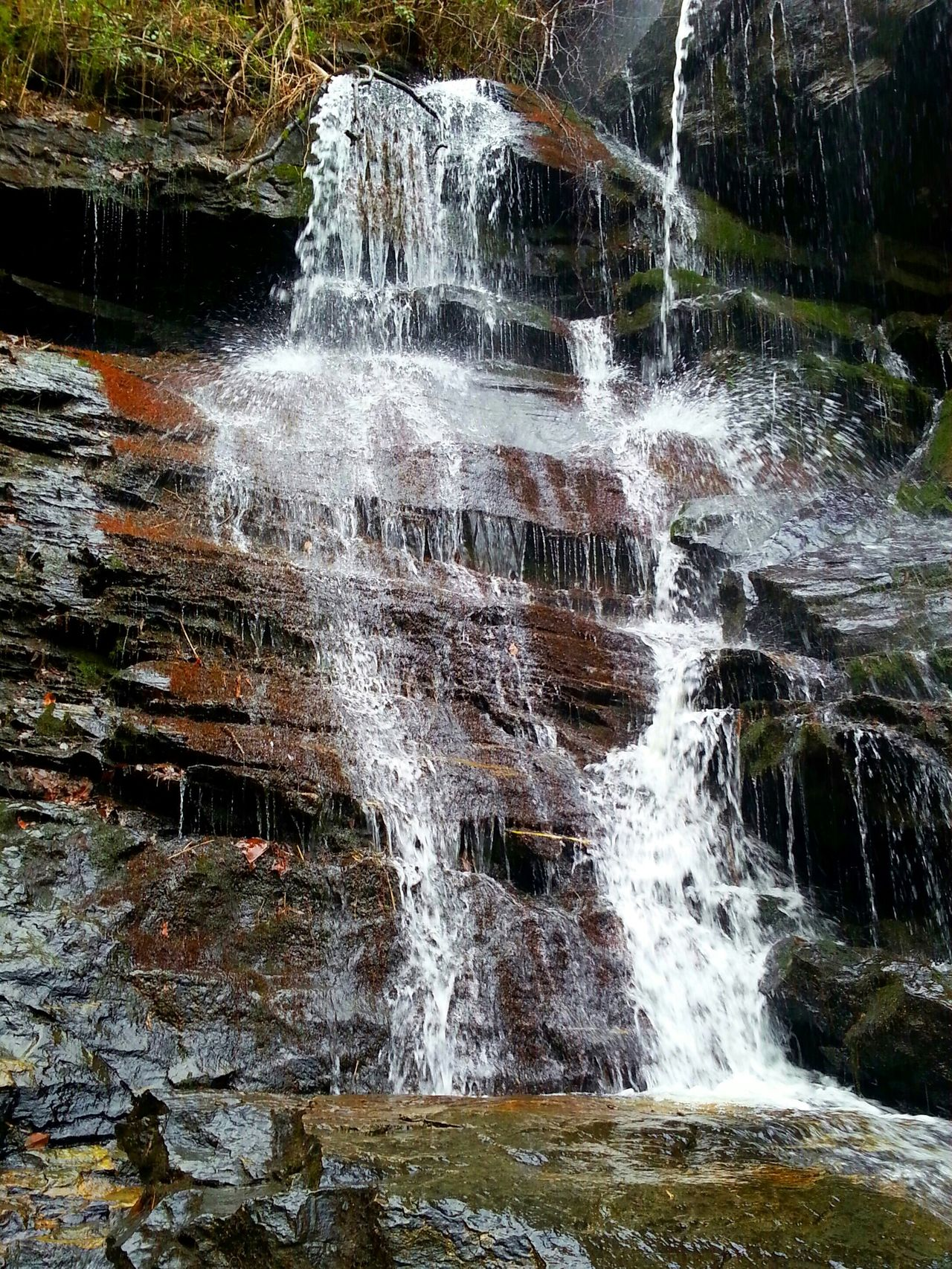 Enjoying The Sights On A Hike Nice Views Serene Long Hike Worth The Beauty Waterfall Waterfall_collection Waterfalls And Calming Views