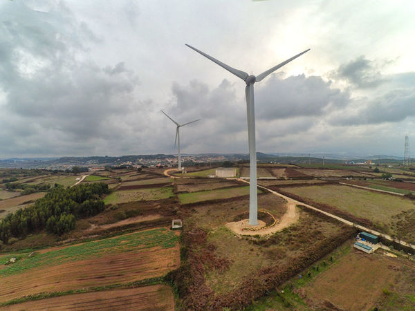 Alternative Energy Cloud - Sky Day Environmental Conservation Fuel And Power Generation Industrial Windmill Landscape Nature Renewable Energy Rural Scene Sky Tranquility Wind Power Wind Turbine