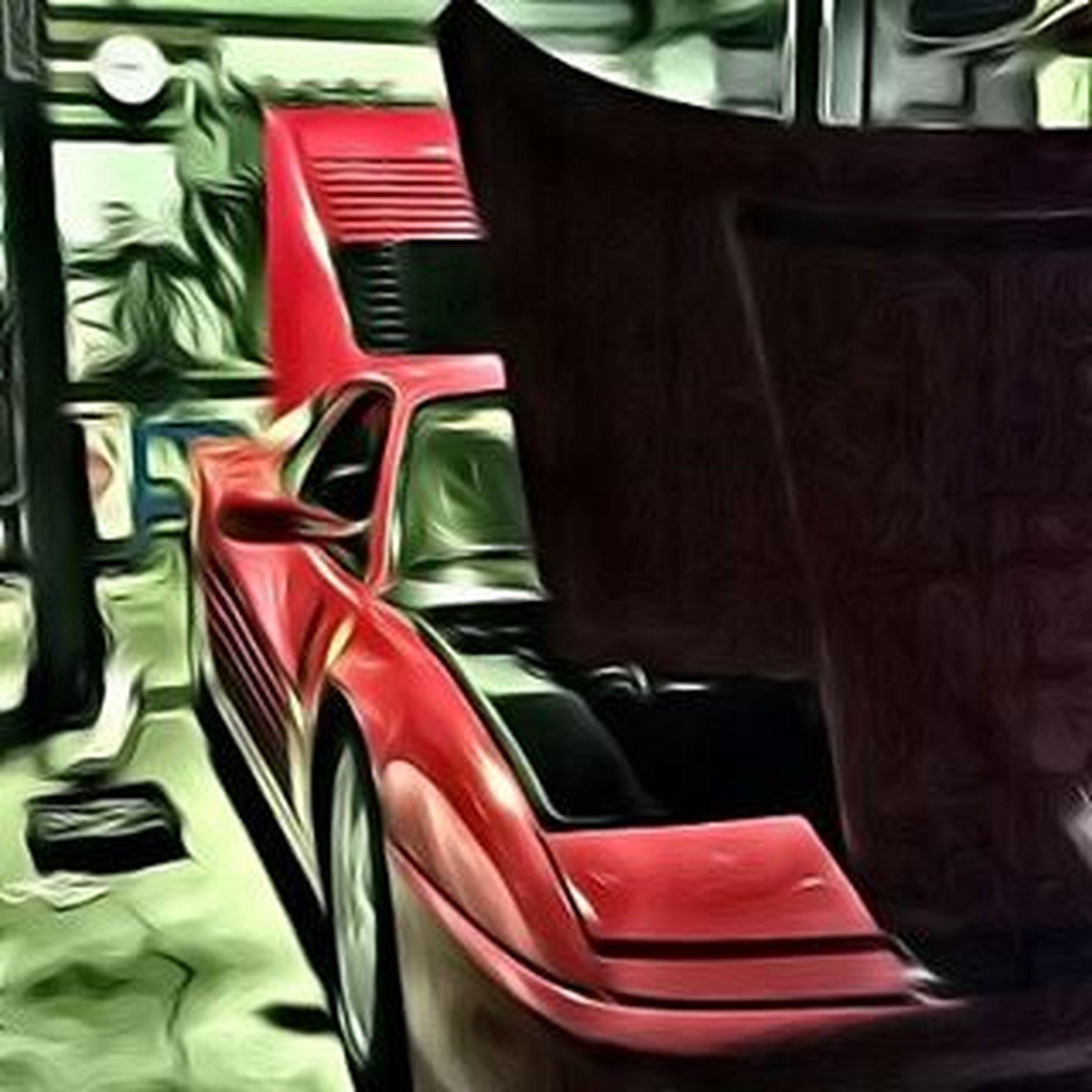 テスタロッサも、いつ見てもカッコよい。 Ferrari Testarossa V12 Cabalinorampante Scuderia Scuderiaferrari Hideoutinc Hideoutworks Superphoto フェラーリ テスタロッサ