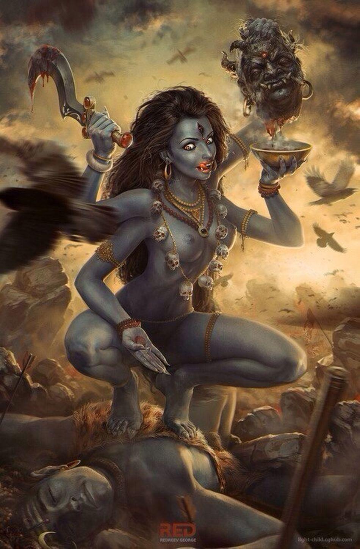 Kali True God шиваизм