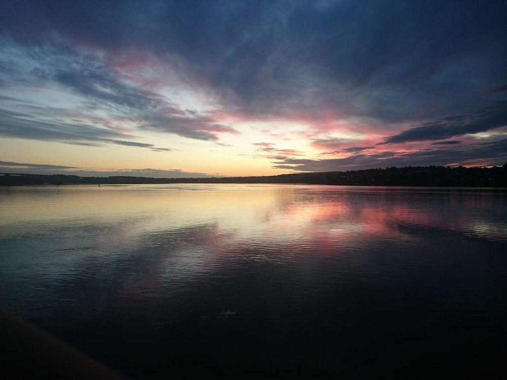 Derrylondonderry Foyle Reflection Sky Tranquil Scene Water