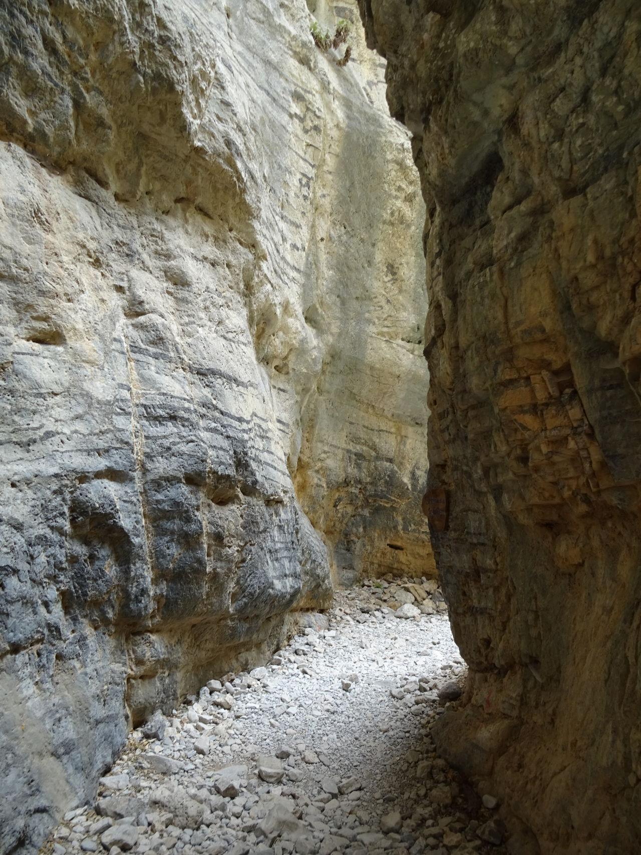 Chasm Crete Gap Greece Gulch Hiking Imbros June 2016 Kreta Landscape Nature Ravine Rock Rock - Object Rock Formation Travel