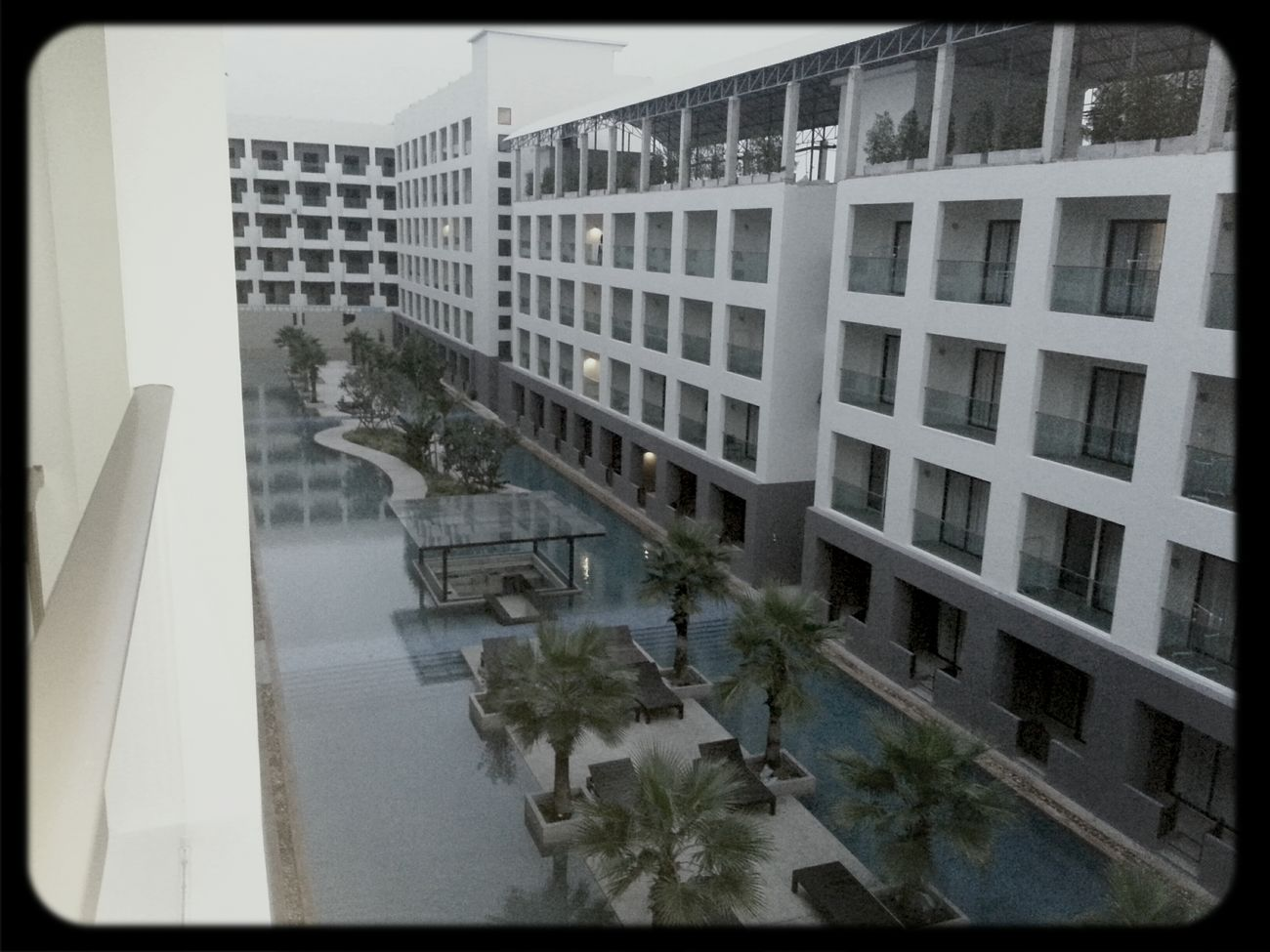 Good morning Thailand... A beautiful view of my hotel.....