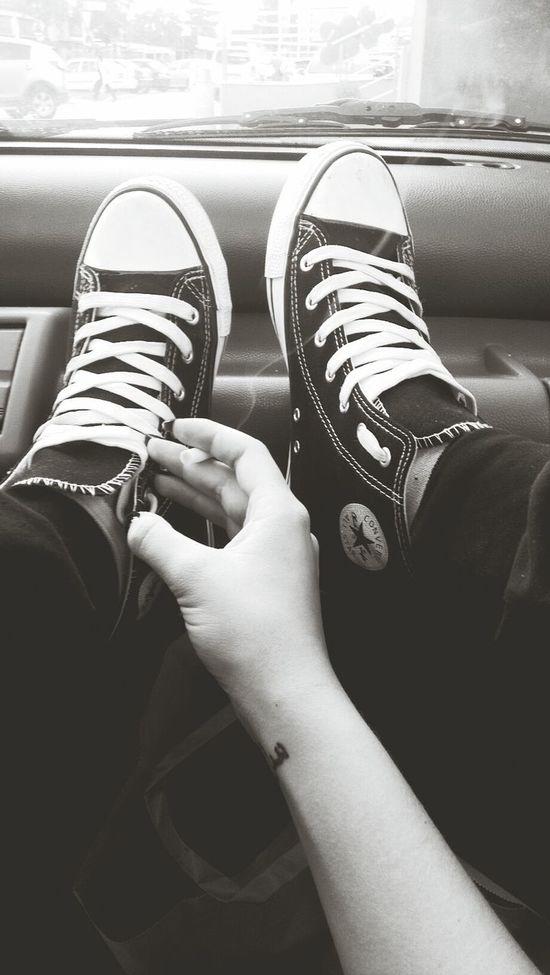 Allstars Tattooo ♥ Black And White Cigarette