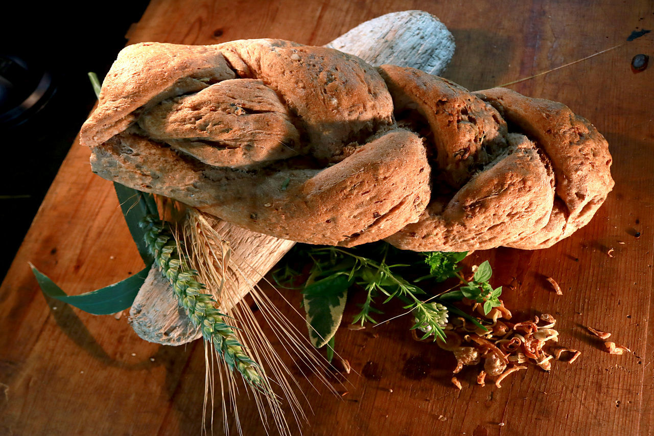 Bread Bread Plait Country Style Food Photography Food Full Grain Bread Grain Home Made Bread Vintage Photo